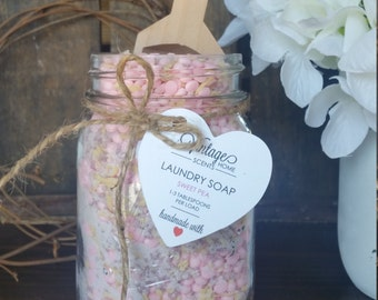 Handmade Laundry Soap-Sweet Pea