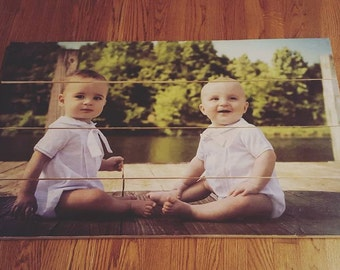 Custom Reclaimed Wood Photos.