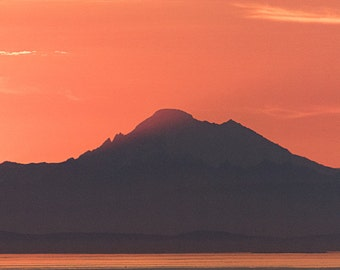 Mount Baker, Port Angeles, Washington photographic print