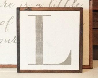 Custom Letter Sign