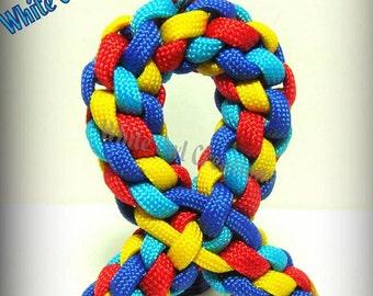 Autism Awareness Ribbon Key chain