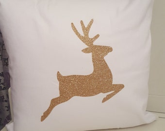 Holiday Glitter Pillow