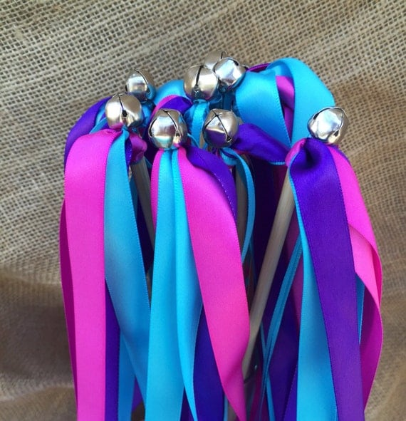 Under The Sea Ribbon Wands, Mermaid Party Favor Wands, Party Decor ...