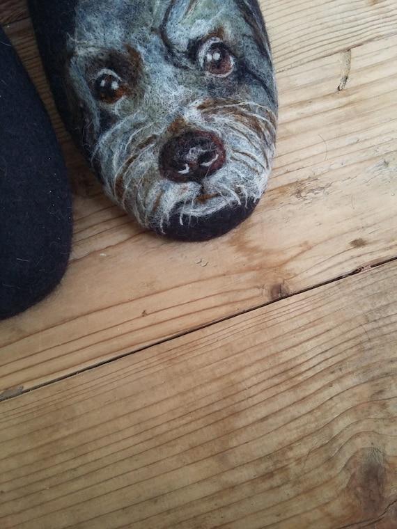 Dog Felt Slippers