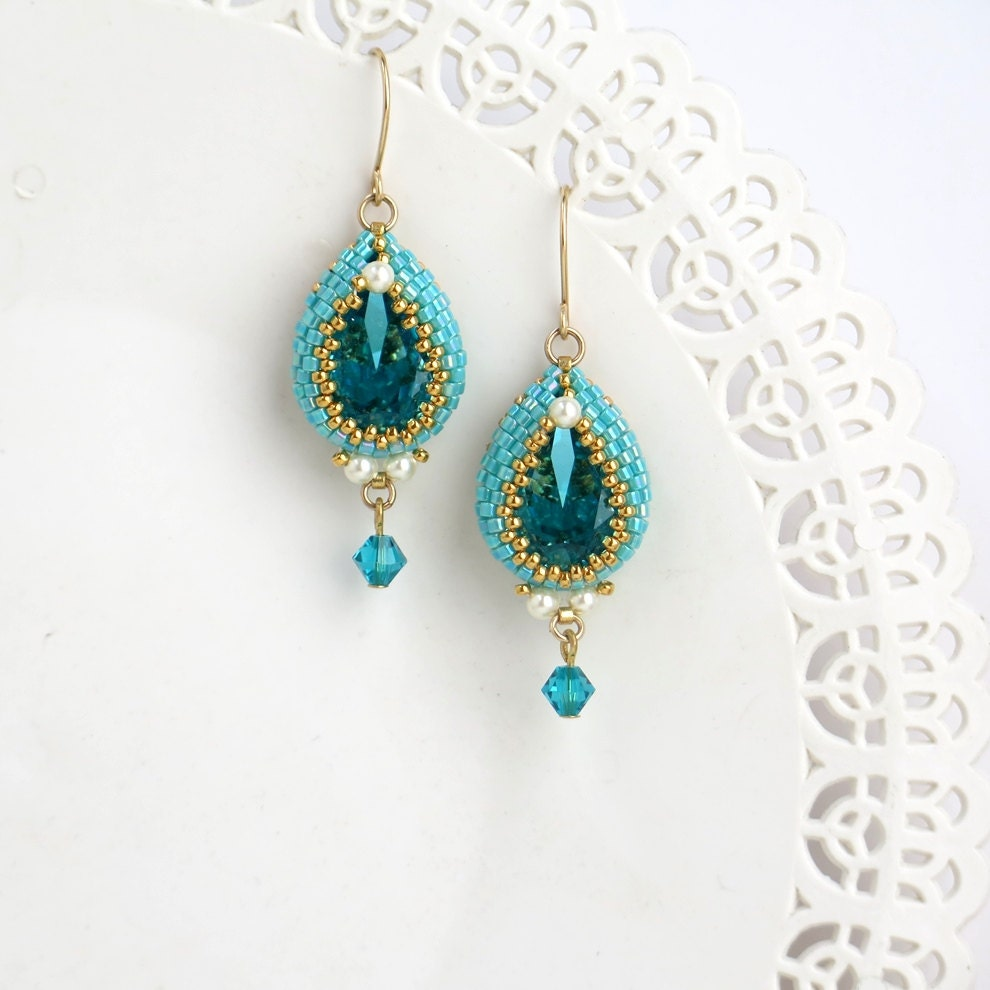 turquoise dangle earrings turquoise drop earrings turquoise. Black Bedroom Furniture Sets. Home Design Ideas