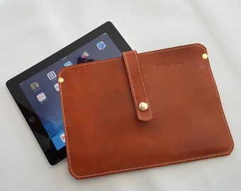 Deluxe Apple iPad 2, iPad 3, iPad 4 Leather Case