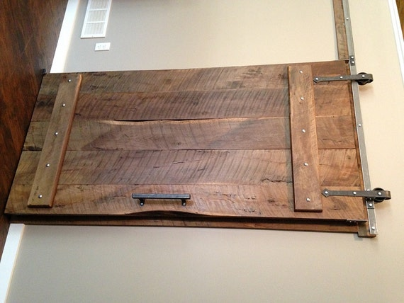 Arrow Style Sliding Barn Door Hardware With Track Included