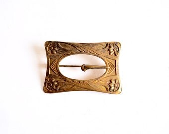 Art Nouveau Fishel Nessler Co. Sash Brooch