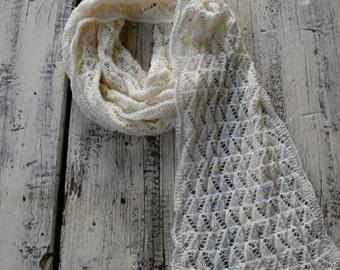 beautiful scarf in light beige
