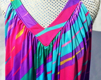 Women's vintage 1980's dress (UK 12-14)