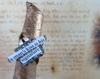 Mae West Ring made with recycled paper