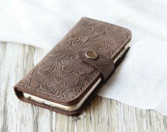 iPhone 6 wallet case iPhone 5s wallet case iPhone 6s case iPhone 6 plus wallet case iPhone SE case iPhone 6s plus case  vintge decorative