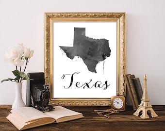 Texas Wall Art texas wall art | etsy