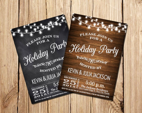 CHRISTMAS PARTY INVITATION, Holiday Party Invitation, Christmas Party Invitation, Christmas Invitation, Holiday Printable,