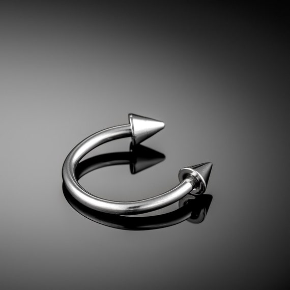 10 mm Piercing horseshoe earring. septum. piercing jewelry. horseshoe earring. septum horseshoe. helix piercing. septum ring. nipple ring.