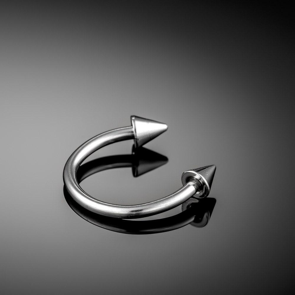 Horseshoe Barbell Faux Septum Ring Fake Septum piercing |Septum Piercing Horseshoe Ring