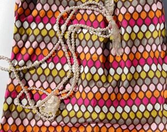 Multi Colored Petal Dress, Baby Girl Petal Dress, Toddler Petal Dress, Girls Petal Dress