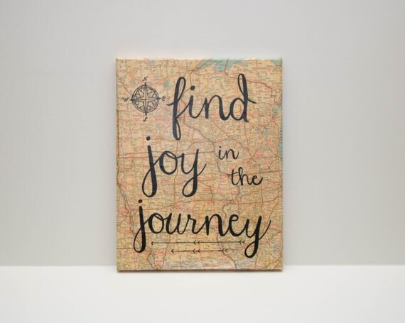 Find Joy in the Journey-Map Canvas