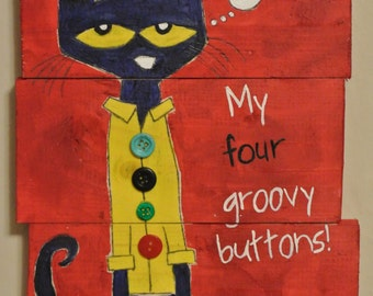 Pete the Cat - Groovy Buttons