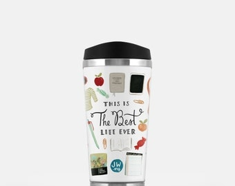 Best Life Ever Stainless Steel Travel Mug, Pioneer Gift, JW Gift, JW.org, Jehovah's Witnesses, Pioneer School Gift