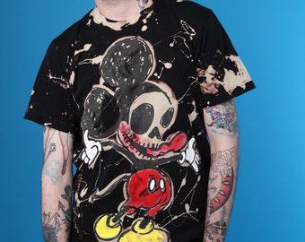 ADAMADAMADAM Mr Maus Zombie print T-shirt