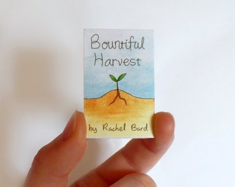 Bountiful Harvest Mini-Comic Zine