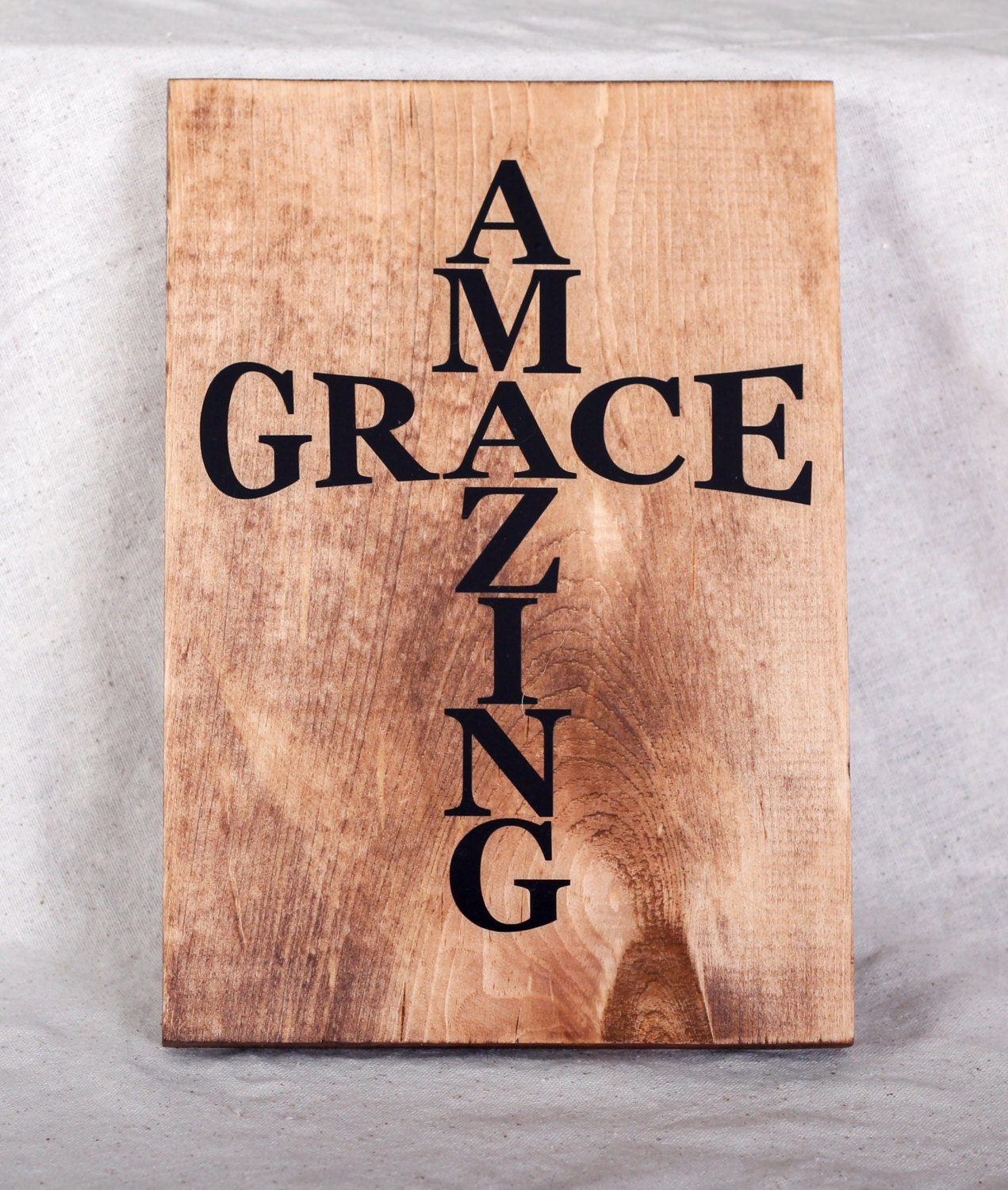 Signs You Re Amazing: Amazing Grace Sign Grace Sign Inspirational Sign By RKCreative