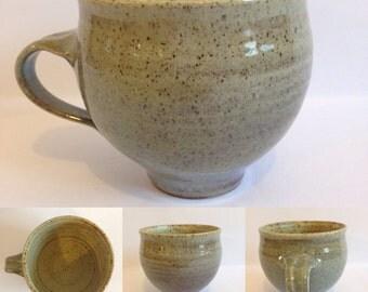 Stoneware Mug / Handmade Pottery / Wood Fired