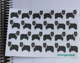 Sheltie Dog Stickers