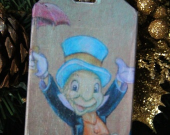 Jiminy Cricket/Wishing Star Luggage Tag
