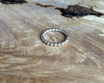Bobble Ring Silver