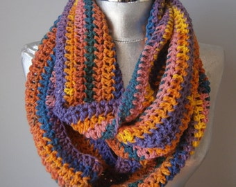 Knit infinity scarf chunky scarf knit cowl scarf handknit scarf chunky cowl scarf winter scarves winter fashiıon accessories