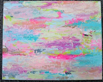 Colorsplash Bright Abstract Canvas Art