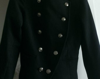 Romeo & Juliet Couture Double Breasted Military Coat