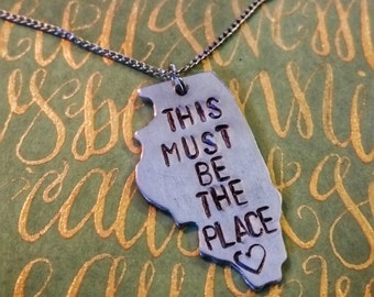 Illinois Talking Heads - Naive Melody necklace