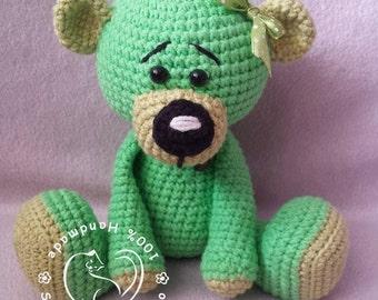Amigurumi teddy ber stuffed toy