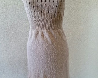 Fitted Crocheted Dress