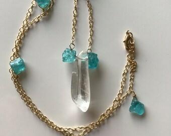 Aqua Celebration Necklace