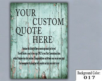 "12""x16"" Custom Wood Sign, Your Custom Quote Here, Personalized Sign, Custom Gift, Handmade Wood Sign, Personalized Gift, Personalized"