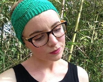 Knitting Pattern; Castillon Ear Warmer