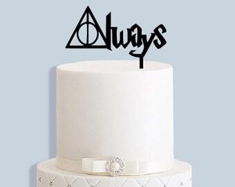 Always Harry Potter Cake Topper
