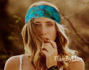 Yoga Headband,Women Headband,Boho Headband,Bohemian Headband,Hippie Headband,Running Headband,Wide Heabdand ,Women Headwrap Headband