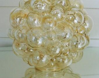 Original Glass Bubble Lampshade Helena Tynell Limburg 1960s Retro Vintage
