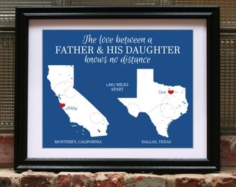Dad Birthday Gift, Gifts for Dad, Dad Birthday Present, Personalized Dad Gift, Custom Dad Gift, Father Daughter Gift, Fathers Day Gift Print