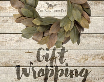 Gift Wrapping Addition to Purchased Product