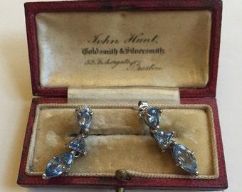 Vintage Silver earrings, lovely item