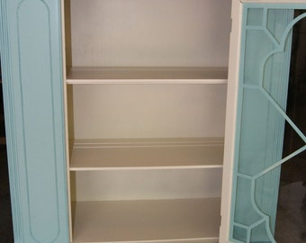 Antique China Hutch restored & refinished