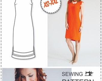 Shift Dress Pattern - Sewing Pattern