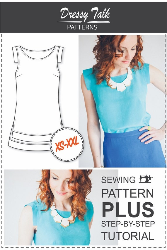 Cap Sleeve Blouse Sewing Pattern - White Frilly Blouses