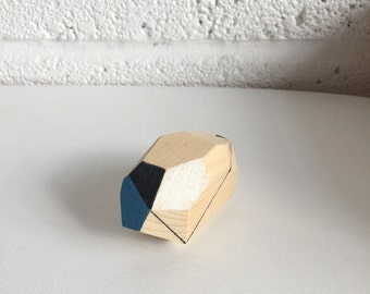 Geometric wooden decoration 003.Brahin by Polymorphics
